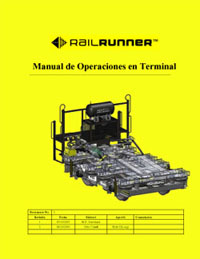 RailRunner Terminak Operations Manual (Spanish)